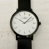 Black With Black Band Watch