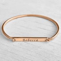 Rose Gold Name Bracelet